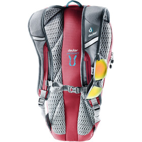 Deuter Road One Backpack Set, Large, cranberry-arctic
